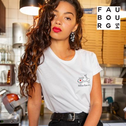 FAUBOURG54 Tシャツ・カットソー 日本未入荷 FAUBOURG54★T-shirt Love Story 可愛いハートロゴ