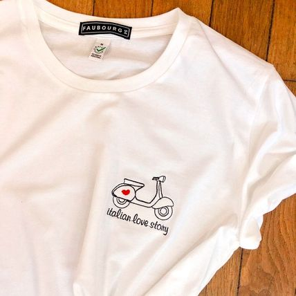FAUBOURG54 Tシャツ・カットソー 日本未入荷 FAUBOURG54★T-shirt Love Story 可愛いハートロゴ(6)