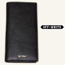 Off White Continental Wallet Black 財布