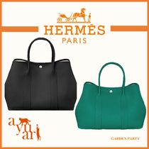 HERMES★GARDEN PARTY 36 BAG★2色★
