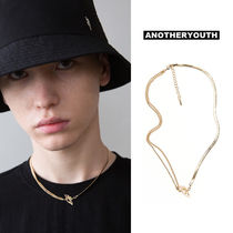 ANOTHERYOUTH(アナザーユース) ネックレス・チョーカー ANOTHERYOUTH正規品★19SS★全2色★ミックスチェーンネックレス