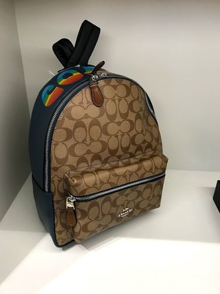 Coach バックパック・リュック 6月新作 COACH★MEDIUM CHARLIE BACKPACK F30550(7)