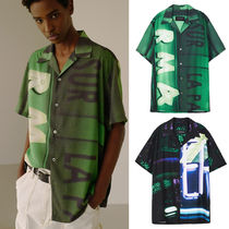 ANDERSSON BELL★JEFF GRAPHIC SHIRT  2色