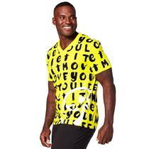 ★SALE★ ZUMBA Let It Move You V Neck (Mell-Oh Yellow)