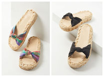 US発★Urban Outfitters Willow Knotted Raffia Sandal★
