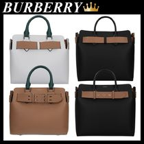 BURBERRY THE SMALL BELT BAG IN GRAINED LEATHER