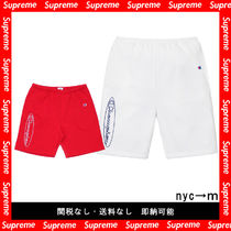 即納国内発送 supreme Champion Outline Sweatshort 19ss シュプ