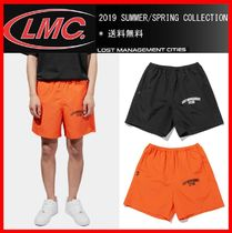 ★韓国の人気★【LMC ] ★LMC RED LABEL ARCH FN SHORTS★2色★