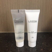 【LAGOM】ミニクレンザー2本SET☆Foam 30ml & Gel to Water 30ml