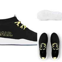 【送料込 BALR】 EE PREMIUM SOCK SNEAKERS V2 BLACK/YELLOW
