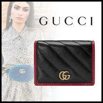 【19AW】GUCCI GG Marmont カードケース(コイン&紙幣入れ付)