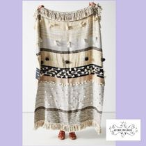ANTHROPOLOGIE☆All Roads Yucca Throw Blanket☆N