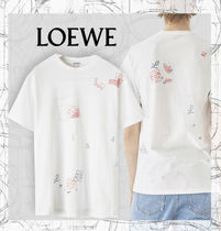 【LOEWE】2019 Pre Fall T-Shirt Letters White