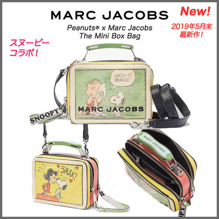 新作♪【Marc Jacobs】スヌーピーコラボ The Mini Box Bag