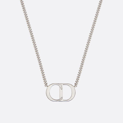 Dior ネックレス・チョーカー Dior☆CD ICON SILVER NECKLACE ネックレス N1026HOMST_D990(2)