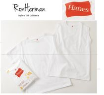 RHCロンハーマン別注★Hanes  PREMIUM Two Pack Tシャツ