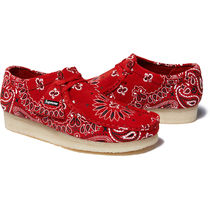 Supreme/Clarks Originals Bandana Wallabee クラークス