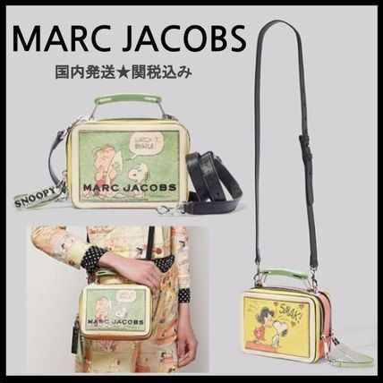 国内発送♪コラボPEANUTS X MARC JACOBS THE MINI BOX BAG