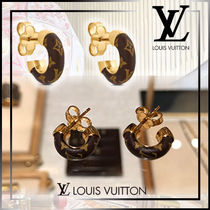 直営店買付 LOUIS VUITTON Mini creoles Wild LV ピアス