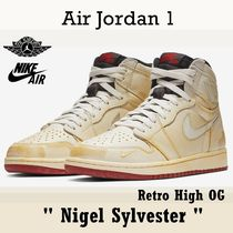 "NIKE Air Jordan 1 Retro High OG ""Nigel Sylvester"" FW 18"