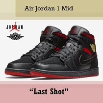 "NIKE ナイキ Air Jordan 1 Mid ""Last Shot"" SS 18  送料無料"
