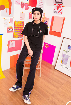 beyond closet Tシャツ・カットソー ☆beyond closet☆ NOMANTIC SIGNATURE LOGO T-SHIRTS 4色(10)