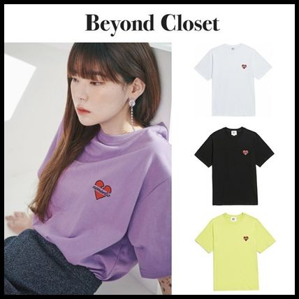 beyond closet Tシャツ・カットソー ☆beyond closet☆ NOMANTIC SIGNATURE LOGO T-SHIRTS 4色