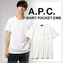 【日本限定】A.P.C. T-SHIRTS POCKET EMB JPS ロゴTシャツ