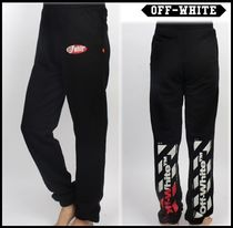 ★関税込★Off-White オフホワイト★DIAGONAL SWEATPANTS★BLACK