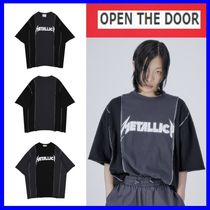 [OPEN THE DOOR]   metallica 1/2 T (2 color) -UNISEX / 追跡付
