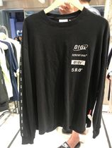 O!Oi★TAPING LONG SLEEVE T-SHIRTS  Tシャツ 韓国大人気(全4色)