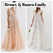 ASOS Bronx & Banco Emily exclusive embellished bridal gown