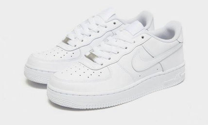 Nike キッズスニーカー 大人もOK 【NIKE】Nike Air Force 1 Low GS ☆ALL WHITE(2)