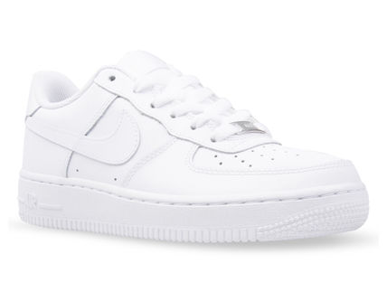 Nike キッズスニーカー 大人もOK 【NIKE】Nike Air Force 1 Low GS ☆ALL WHITE(3)