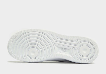 Nike キッズスニーカー 大人もOK 【NIKE】Nike Air Force 1 Low GS ☆ALL WHITE(11)