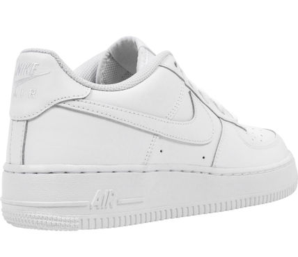 Nike キッズスニーカー 大人もOK 【NIKE】Nike Air Force 1 Low GS ☆ALL WHITE(12)