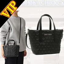 "◆◆VIP◆◆Jimmy Choo ""MINI SARA"" スターエンボス ミニ 2Way"