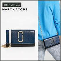 【MARC JACOBS】 Snapshot Wallet On Chain 長財布