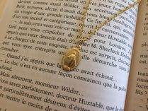 Paris Medaille Miraculeuse(奇跡のメダイ) ネックレス・ペンダント *奇跡のメダイ*ゴールドネックレス (チェーン付き)