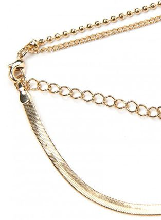 ANOTHERYOUTH ネックレス・チョーカー 【ANOTHERYOUTH】 mix chain necklace(5)