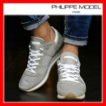 関税負担★人気★【PHILIPPE MODEL】★TROPEZ SNEAKERS★GREY