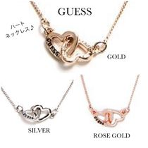 ☆GUESS☆新作♪インターロック♡ハートネックレス☆