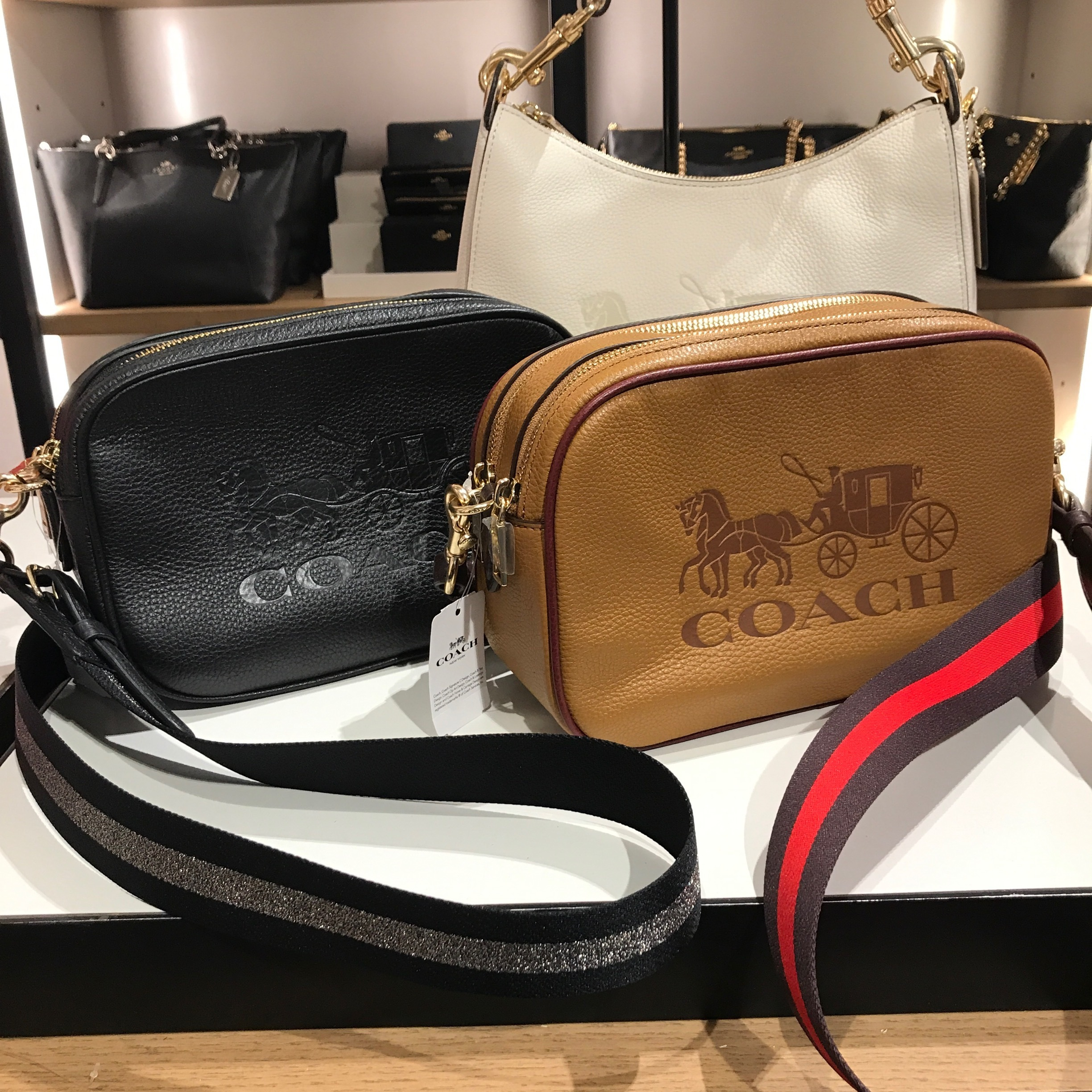 Coach 2019 20aw Leather Shoulder Bags F75818 F72704