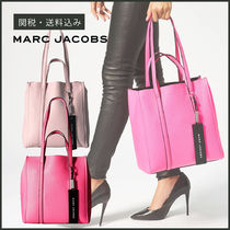 【MARC JACOBS】 The Tag Tote 27 レザー トートバッグ