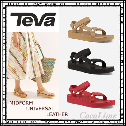 【Teva】テバ 人気サンダル WOMEN'S MIDFORM UNIVERSAL LEATHER