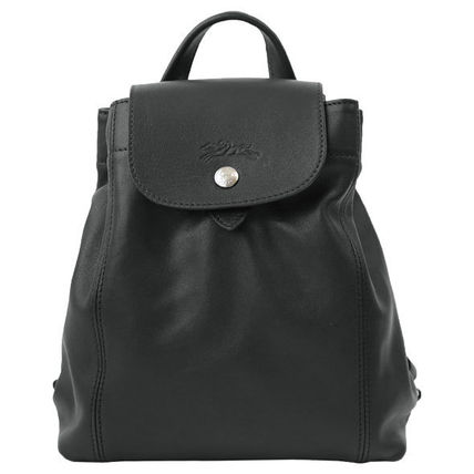 Longchamp バックパック・リュック ロンシャン リュックサック XS Le Pliage Cuir 1306 737 001