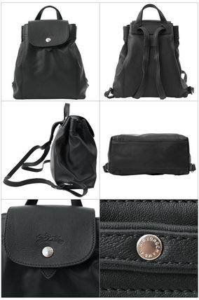 Longchamp バックパック・リュック ロンシャン リュックサック XS Le Pliage Cuir 1306 737 001(2)