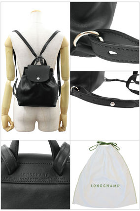 Longchamp バックパック・リュック ロンシャン リュックサック XS Le Pliage Cuir 1306 737 001(4)
