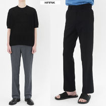 HI FI FNK High Line Slit Slacks  NR386 追跡番号付