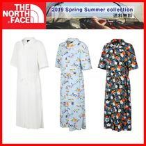人気☆【THE NORTH FACE】☆W'S HOLIDAY S/S LONG SHIRTS☆3色☆